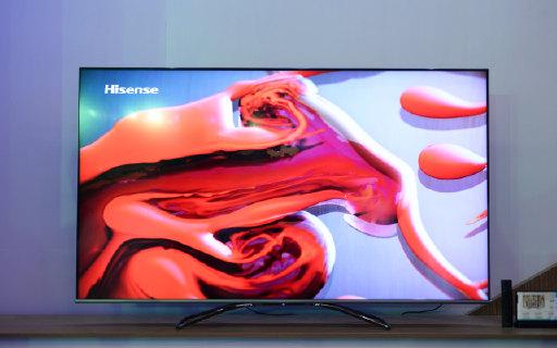 电视也玩全面屏?自主研发画质芯片,海信重磅新品亮相AWE