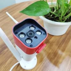 看家護院好幫手,安全守護有你就夠:360紅色警戒標準版攝像機