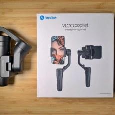 小而精致-飞宇VLOG pocket可折叠手机稳定器