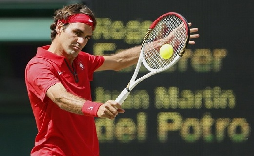 威尔胜RF97网球?#27169;?#36153;德勒御用品牌,天王参与设计,激光签名款