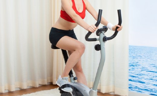 SUNNY HEALTH&FITNESS健身車:8檔可調阻力,小巧不占空間