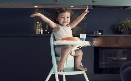 BabyBjorn寶寶餐椅:弧形靠背舒適安全,大品牌更可靠