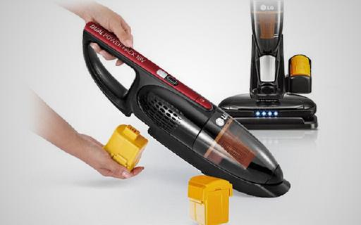 LG二合一吸尘器,刷头防缠绕轻松清理毛发