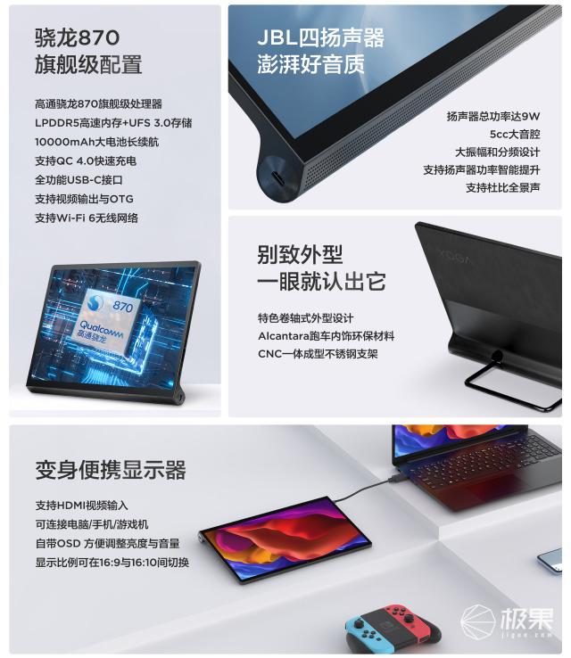 联想(Lenovo)YOGA平板Pro