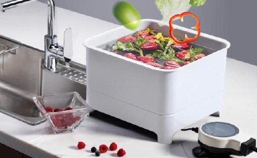科勒全自动洗菜机:智能系统自动清洗,一键操作干净放心