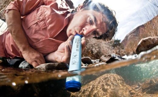 LifeStraw戶外凈水器:僅重57g,戶外湖泊喝水隨便喝