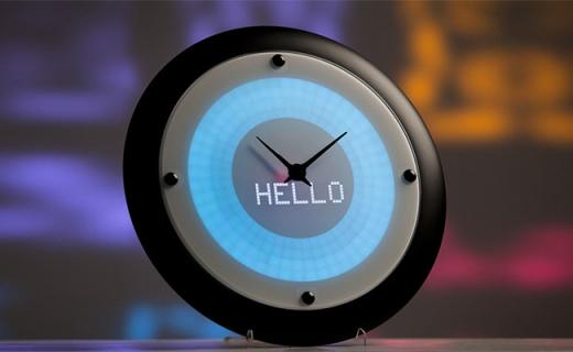 能提醒你下一步工作的智能鐘,比私人秘書還好用