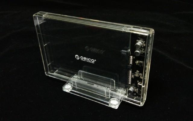 桌面装饰透明系列,?#28034;?#36895;度快 | 奥睿科2159U3支架硬盘盒