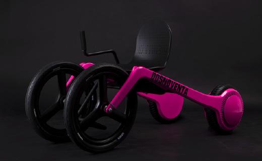 """輪椅界""""超跑"""":外形炫酷,高度可調!"""