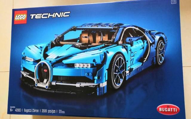 乐高 Bugatti Chiron积木试用:拼成的那一刻成就感爆棚!