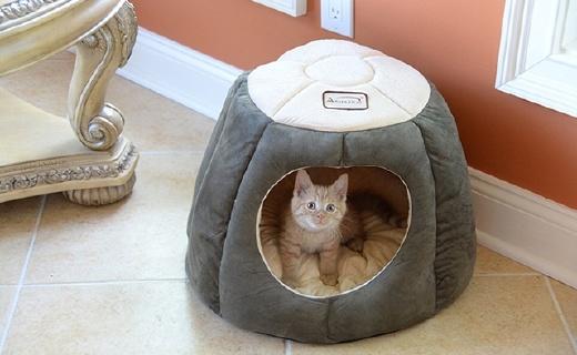 Armarkat C30HML寵物窩:倭瓜造型十分可愛,進口PT棉舒適柔軟