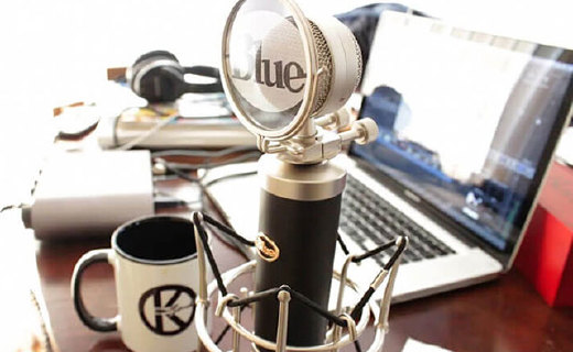 Blue Baby Bottle麥克風:心形指向錄制,聲音飽滿噪音低