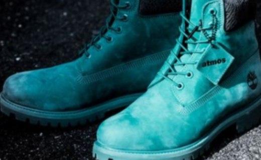添柏岚男士工装靴:稀有宝石绿配色,独特联名款时尚潮流
