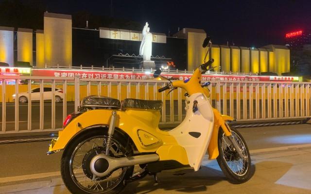 试用宗申森蓝B1蓝调电动摩托车