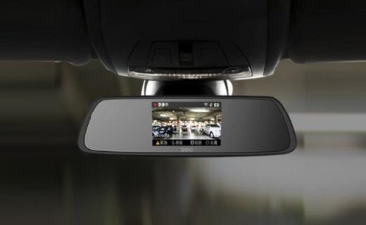 360行車記錄儀:高光白鏡成像清晰,前后雙攝倒車無憂