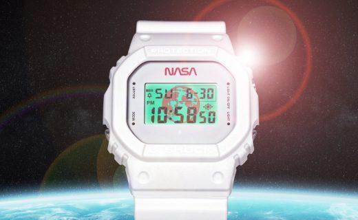 卡西歐推出NASA限量定制版G-Shock手表,售價919元
