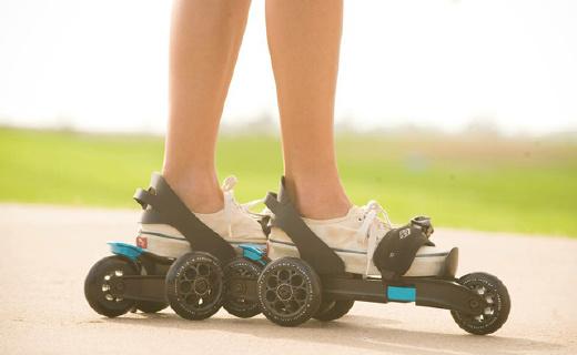 我的轮滑时尚时尚最时尚,秒脱秒穿好操控溜的飞起
