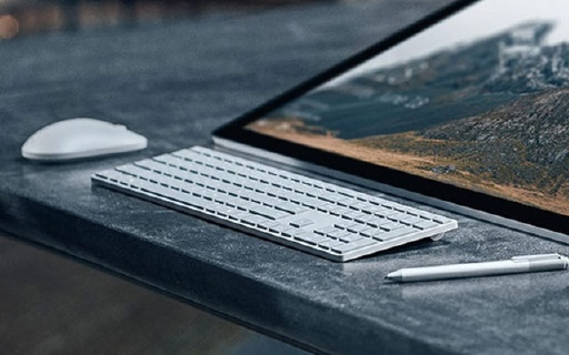 Surface系列键盘鼠标,人体工学简约设计