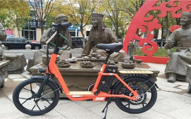 轻巧能上牌的上海永?#20040;?#40736;iK1电踏车,短途出行首选