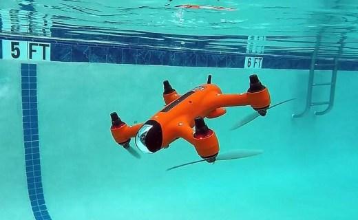 无人机还是无人潜水艇?空海两用型航拍器 Spry 上线!