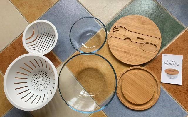试用悦味 多功能日式沙拉碗