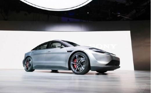 百公里加速4.8秒!索尼最新自動駕駛電動汽車外觀曝光