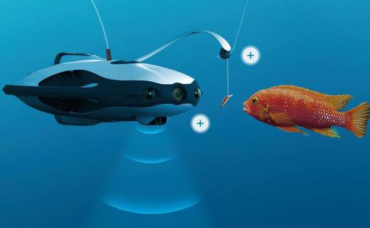 """能拍4K的水下""""无人机?#20445;?#25903;持VR?#20004;?#30021;游海底"""