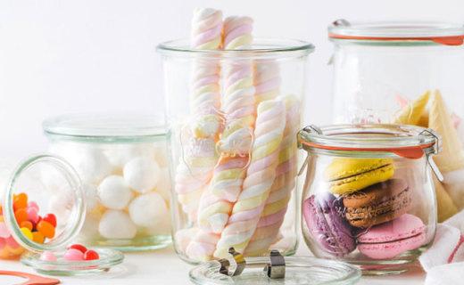 Weck玻璃密封罐:食品级玻璃,超耐高温容易清洗