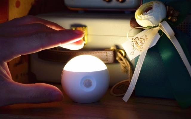 最好用的家居感应夜灯,免安装,所有房间都能用