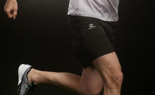 薩洛蒙男士短褲 :柔軟輕巧,襯褲和外殼,輕便舒適且自由