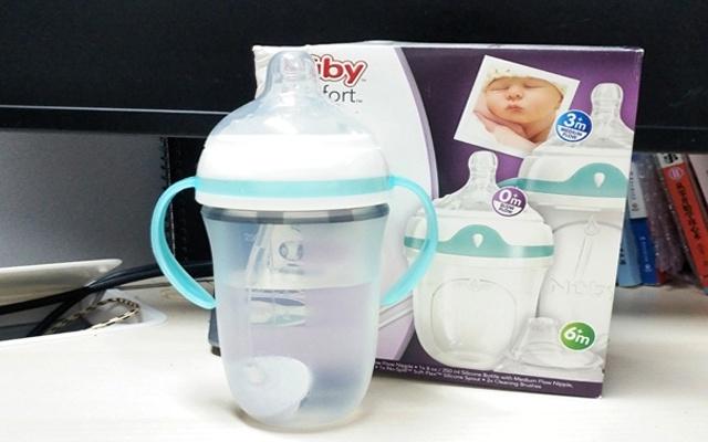 母乳實感奶瓶,Nuby Comfort硅膠奶瓶準媽親測