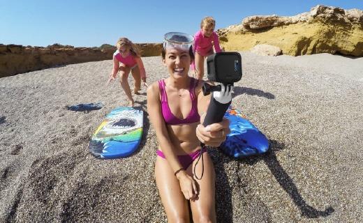 GoPro HERO5運動相機:4k視頻千萬像素,語音命令操作簡單