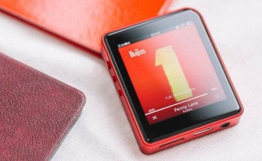 山灵M1无损音乐播放器:蓝牙4.0双向传输,高解析卓越音质