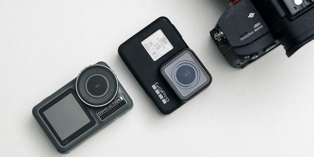 「新东西」Osmo Action 对比 GoPro 7,谁才是真正的Vlog神器?