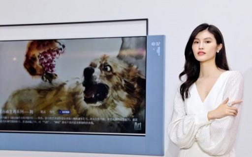 TCL發布XESS浮窗全場景TV,掛在墻上就是一幅畫,還能聽聲辨位