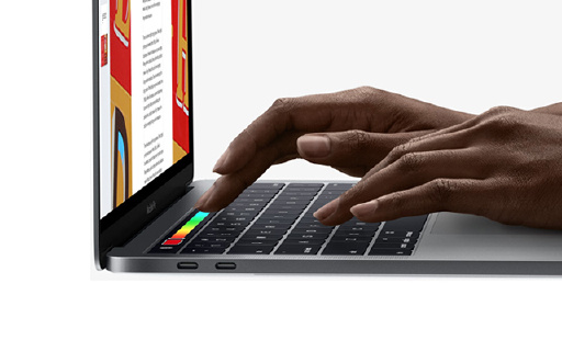 蘋果新MacBook Pro,增加觸控條操控更便捷!