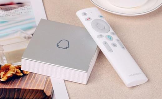 企鵝電視盒子Q1,高顏值還能看NBA直播