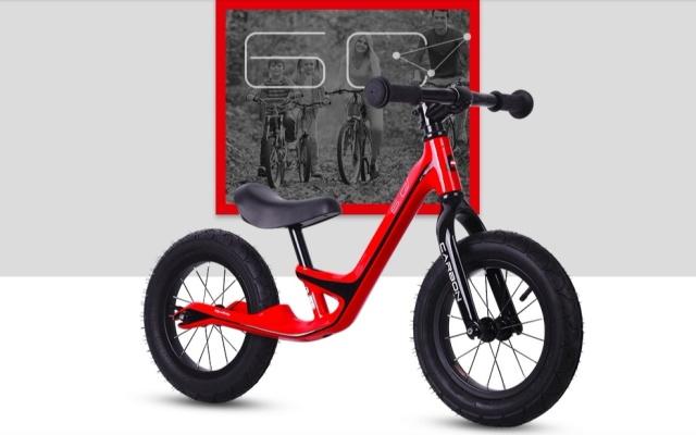 優貝6C碳纖維兒童滑步車
