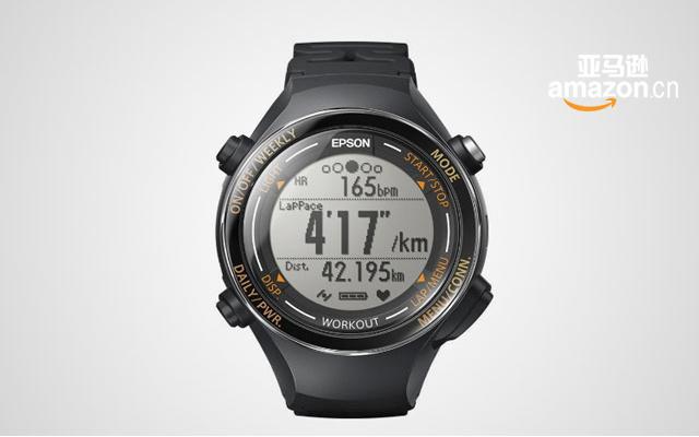 EPSON 愛普生 GPS運動腕表