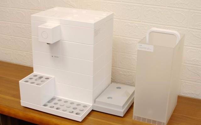 LEGO積木式設計,四重過濾凈水即熱即飲,網友評這款凈飲機有