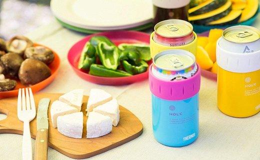 膳魔師易拉罐保冷杯:真空隔熱長效保溫保冷,創意易拉罐造型