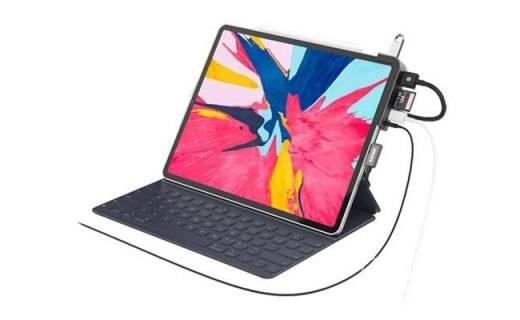 「新東西」iPad Pro變身移動工作站:新款iAdapt多接口擴展塢發布