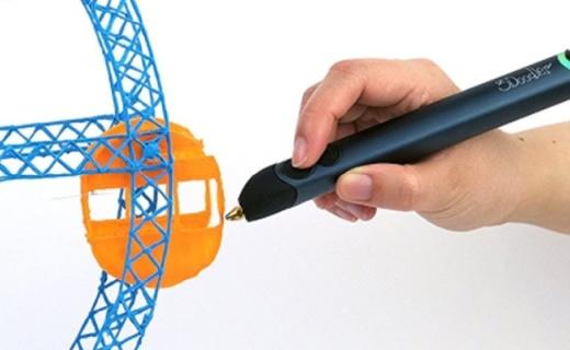3Doodler 3D打印笔:半空打造3D图案,更立体更有创造力
