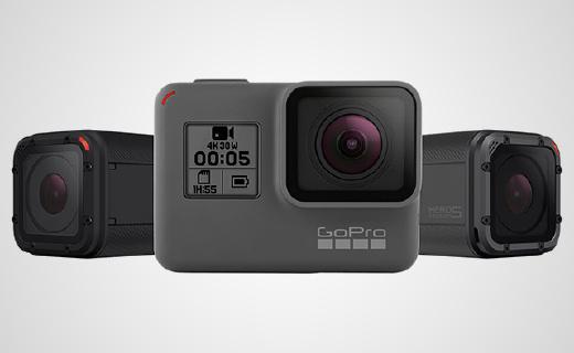 GoPro新機Hero 5,不加外殼也能防水