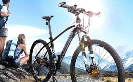 永久27.5寸山地車:輕巧車身騎行方便,減震抓地不費力?