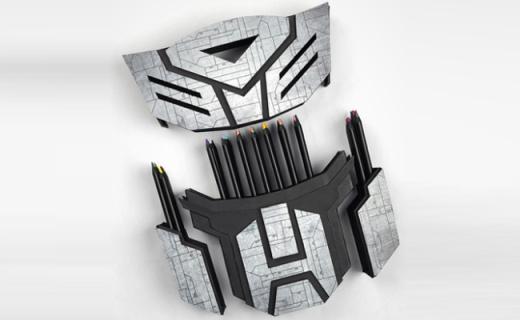 马可变形金刚48色彩铅:雷诺阿黑木品质如初,汽车人外壳酷炫拉风