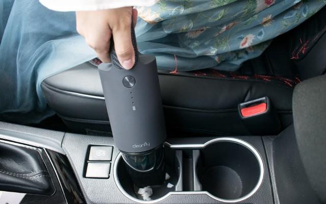 車內易臟,精洗太貴,小米有品這款車載吸塵器幫你快速清潔