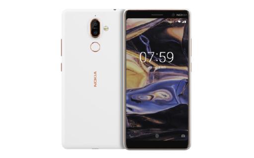 諾基亞7 plus白色版本開售,售價2099起