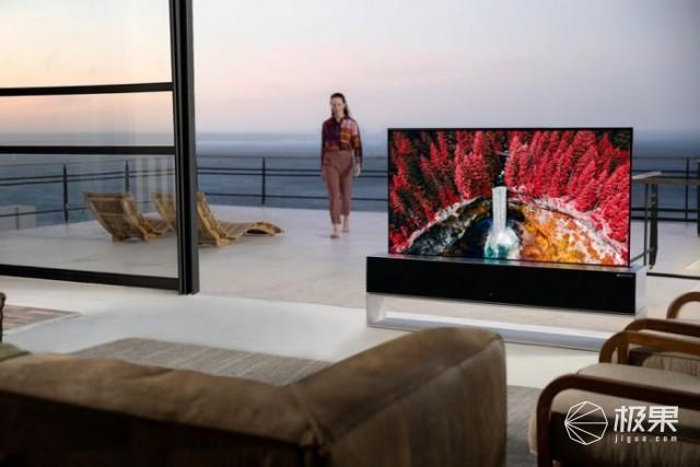 LG推出全球首款可卷曲电视,支持5万次折叠,售价一亿韩元