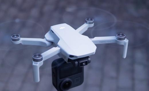 「體驗」把無人機和全景相機連一起會怎樣?僅249克的它竟然做到了.....